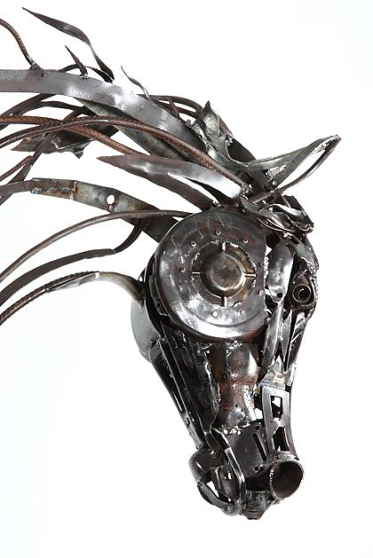 how to make animals from reclaimed metal